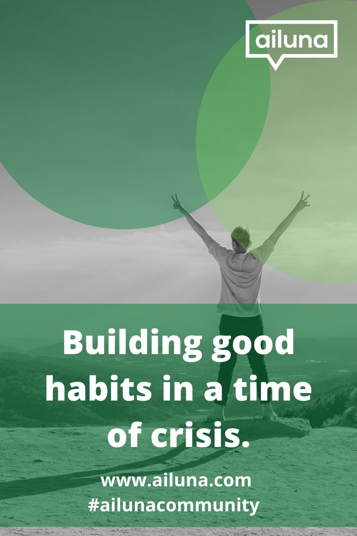 building good habits pinterest pin