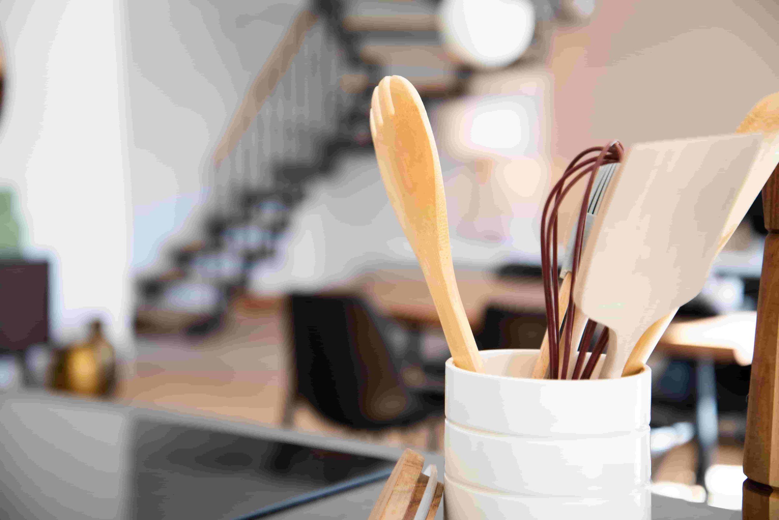 ecobrick stick ideas - jar containing kitchen utensils