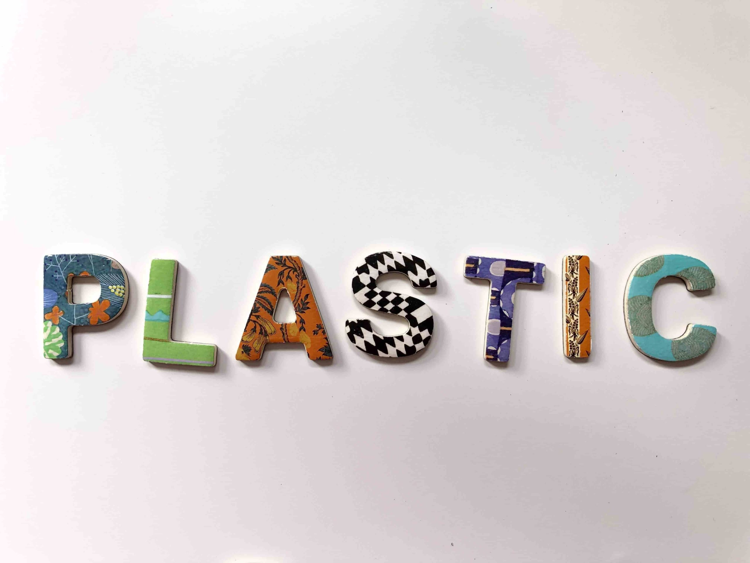 colourful 3d lettring spelling out the word