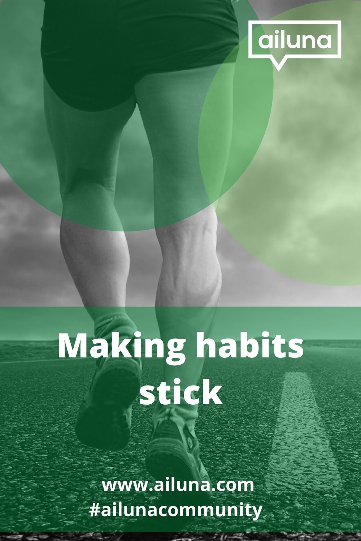 making habits stick pinterest pin