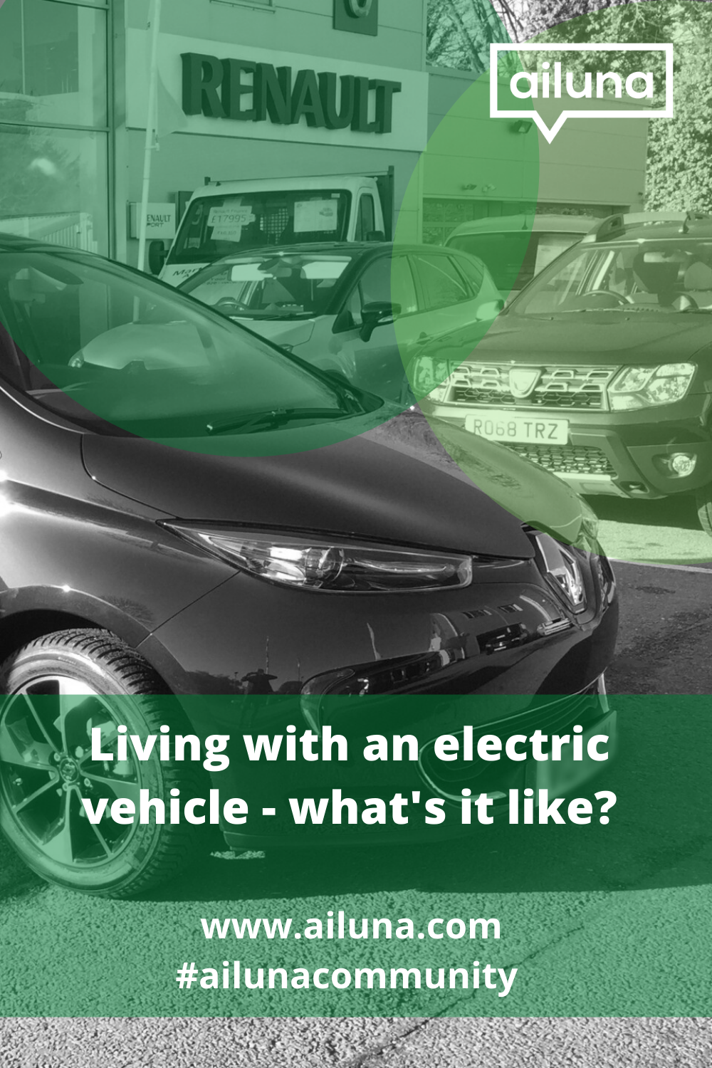living with an electric vehicle pinterest pin