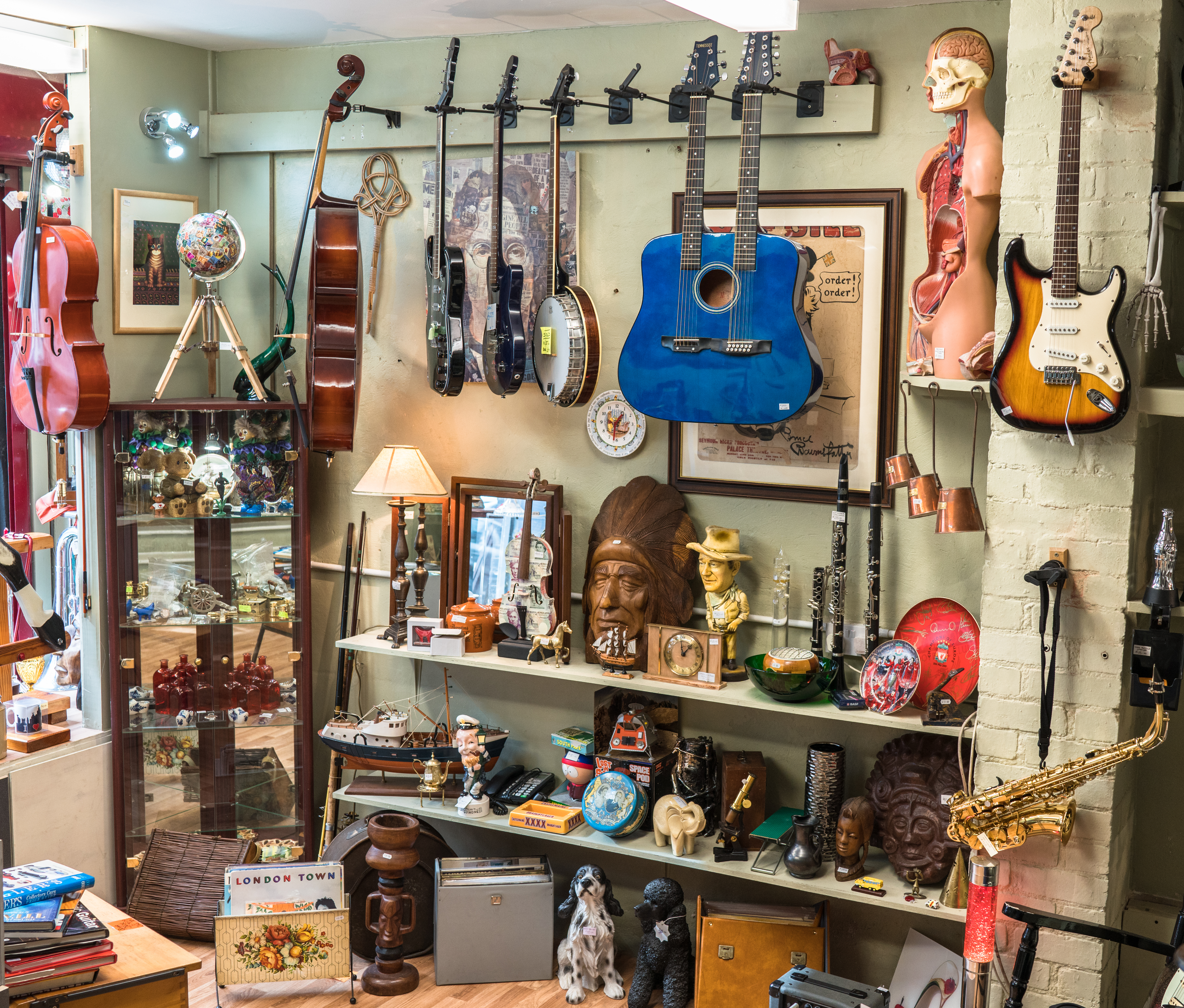 second hand september - shop selling second hand good including guitars and furniture