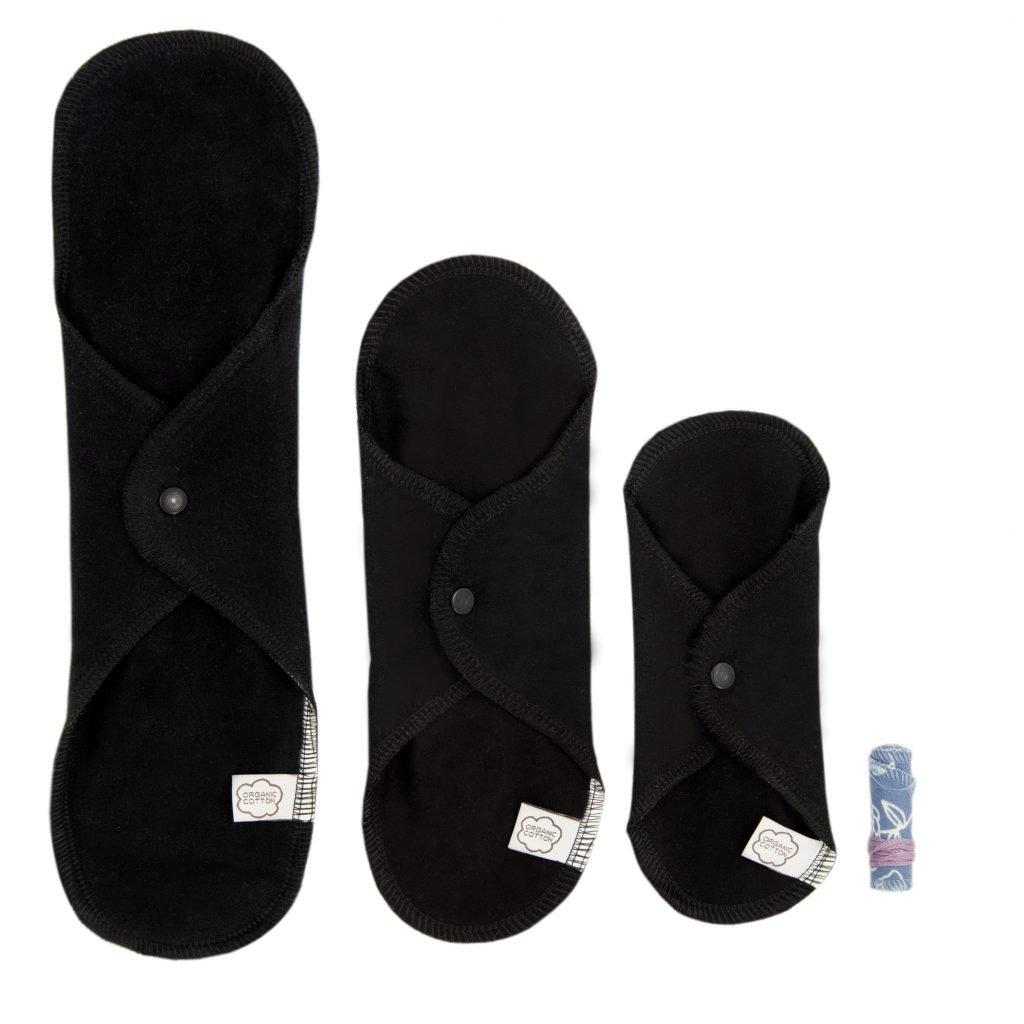 ImseVimse Trial Kit - Sanitary Cloth Pads + Tampon