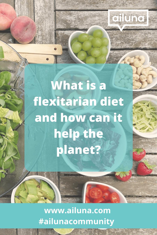 what is a flexitarian diet pinterest pin