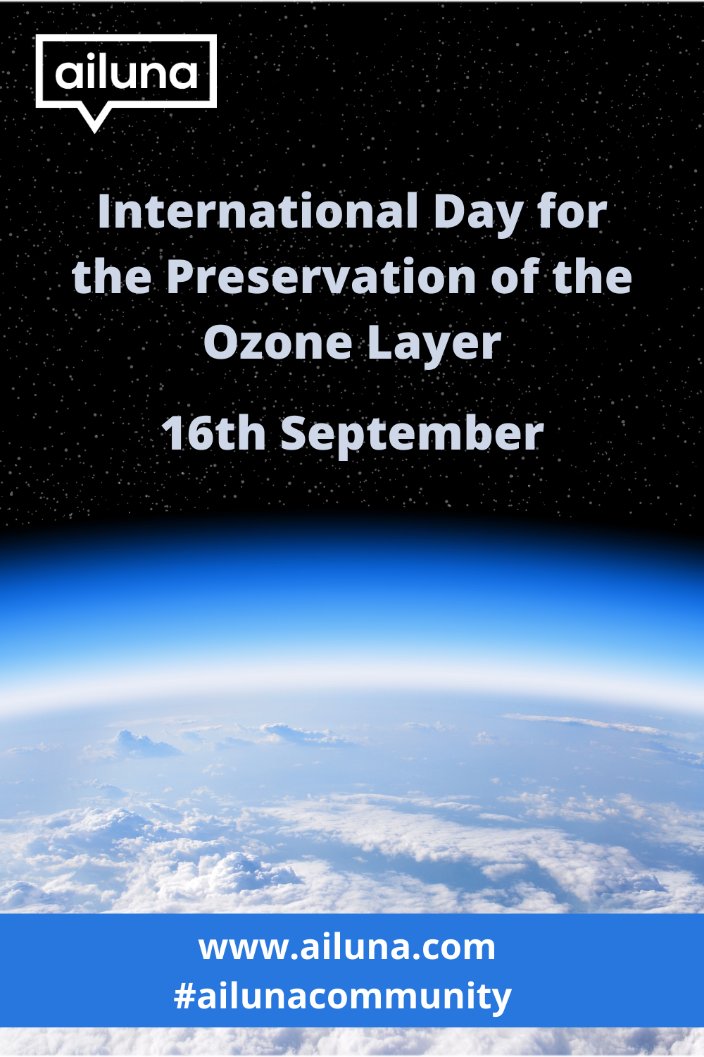 international day for the preservation of the ozone layer pinterest pin