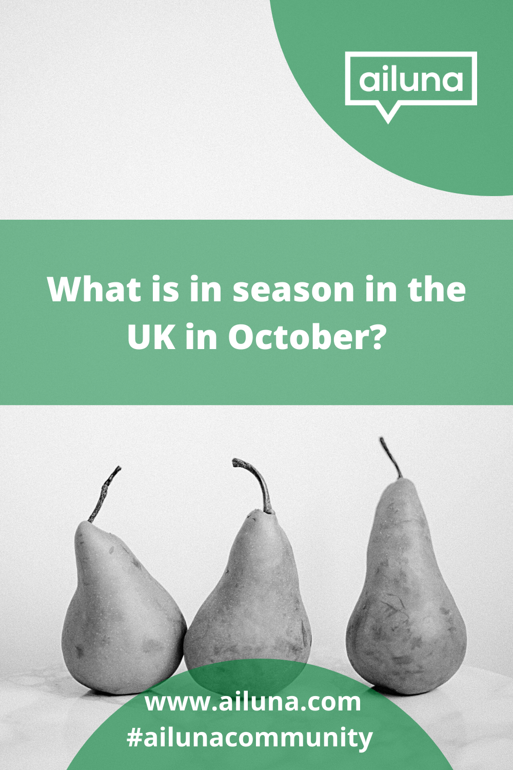 what is in season in the uk in October Pinterest pin
