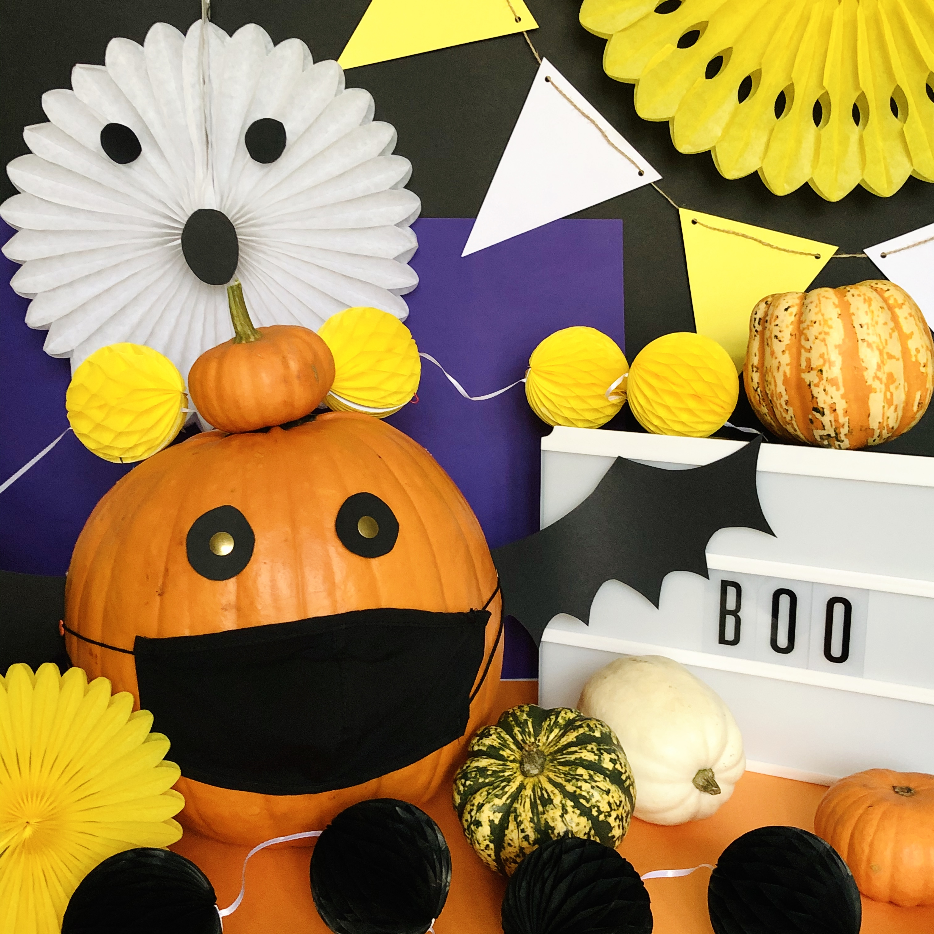 DIY Halloween display from the Conscious Party Box