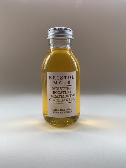 low-waste skincare cleansing oil from Bristol Made