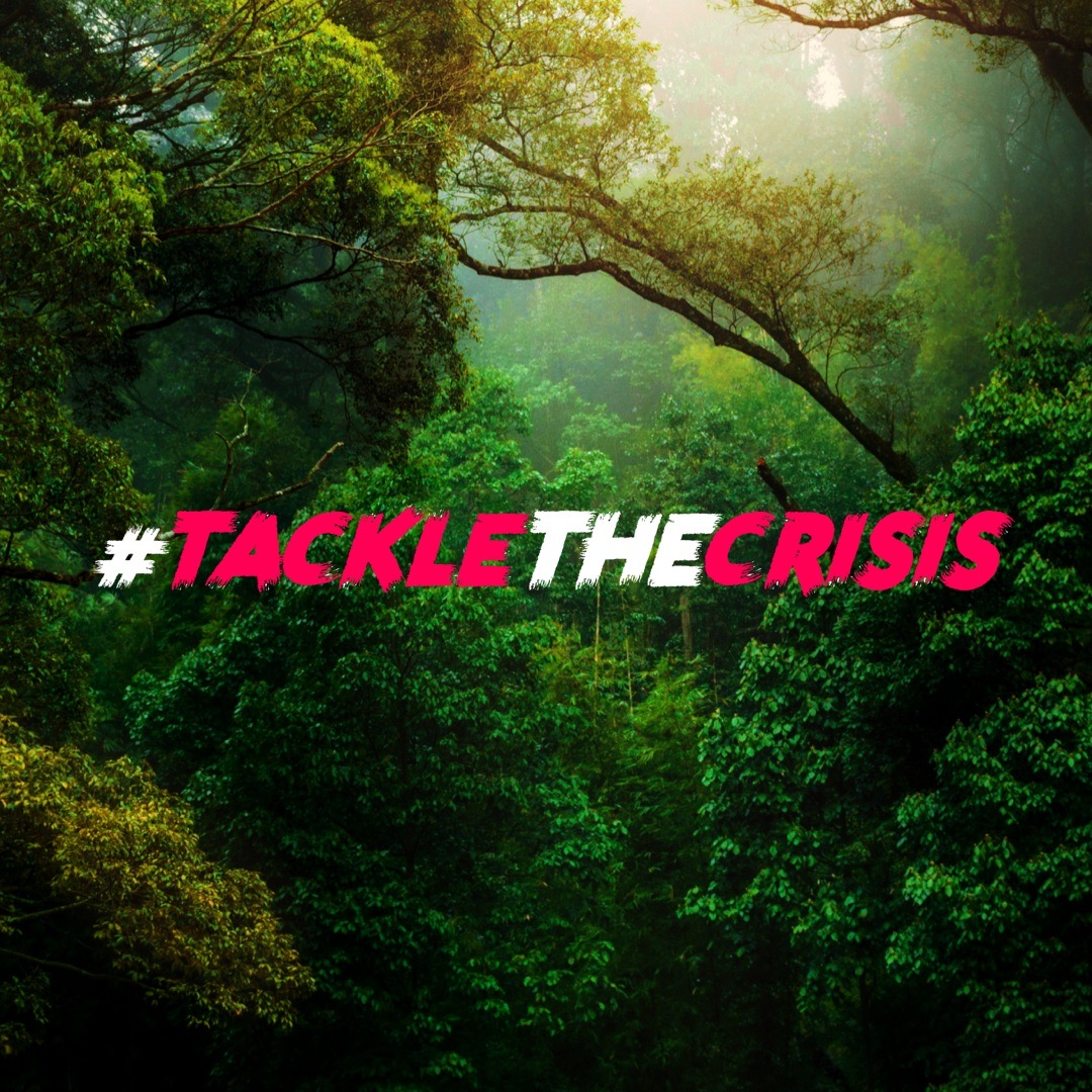 #tacklethecrisis campaign picture