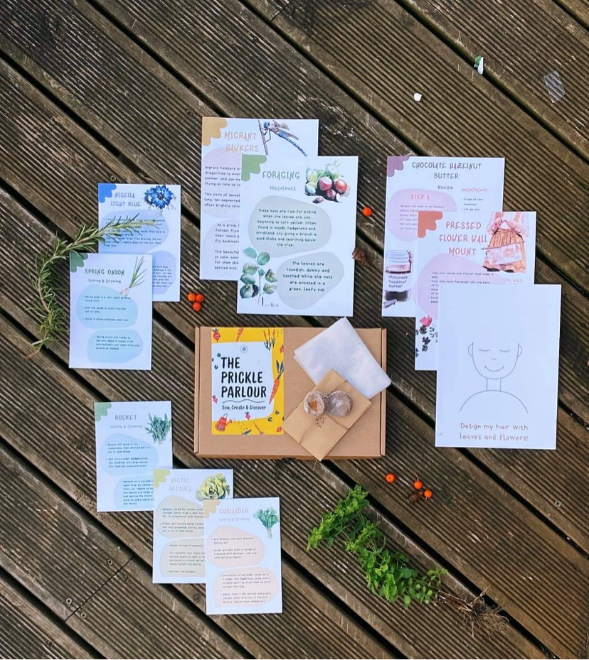 gardening and nature crafts subscription box from It Won't Cost The Earth