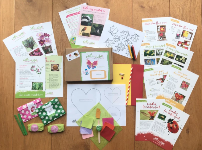 willow and wild nature subscription box for children