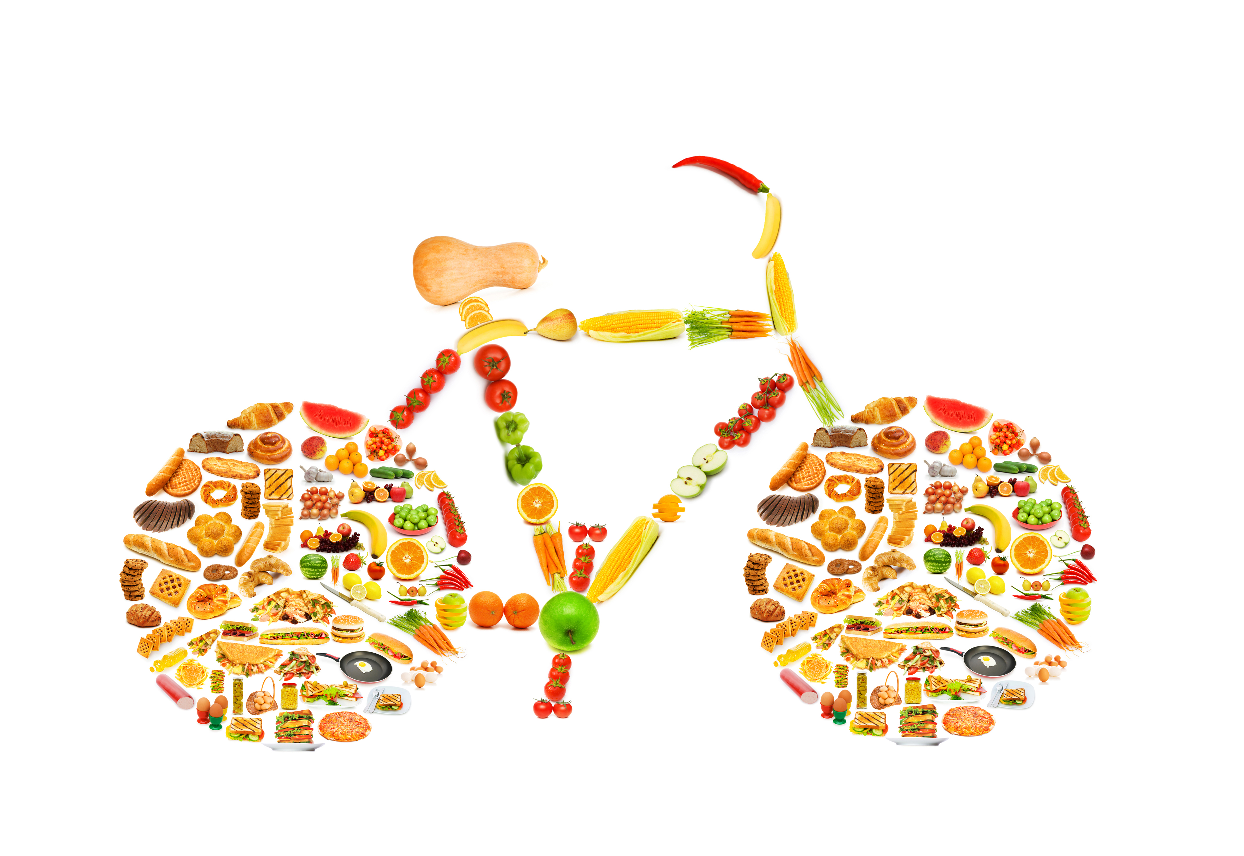 eco bike fuel and food