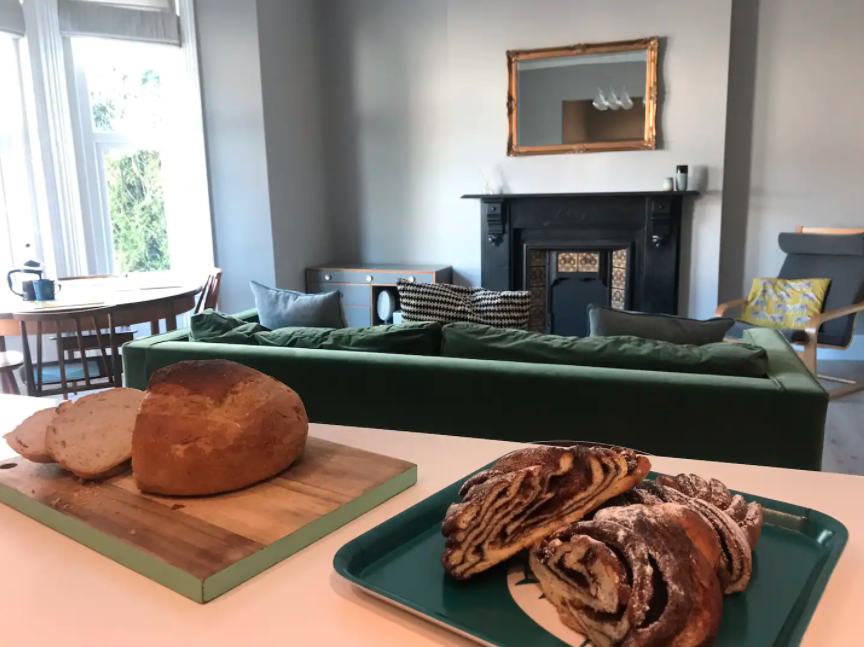 Bread and pastries for Charlotte's lucky Bournemouth guests