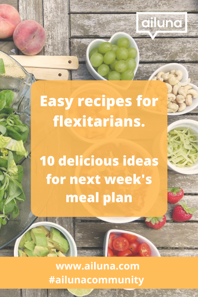 flexitarian recipes pinterest pin